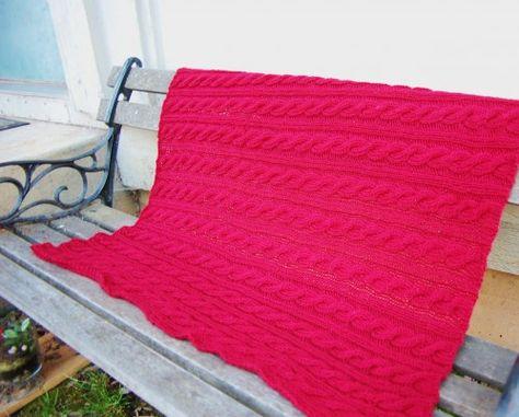 redblanket 010-free knitting pattern