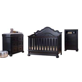 Simmons Kids Paige 3 Piece Crib Set Crib Sets Cribs Convertible Crib
