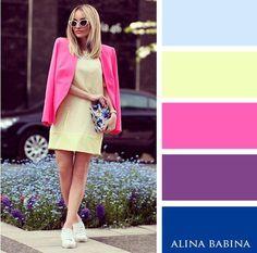 Nillastyle تعلمي كيفية تنسيق الوان الملابس Color Combinations For Clothes Colour Combinations Fashion Color Combinations