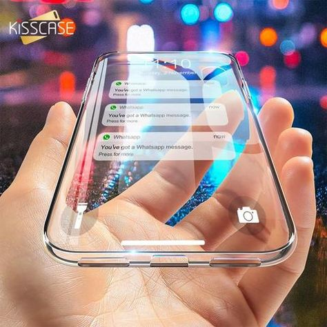 621fe4b0db4 KISSCASE Ultra Thin Clear Soft Silicon Case For iPhone 5 5S Se Cover HD  Transparent Case For iPhone X 6 6S 7 8 Plus Accessories