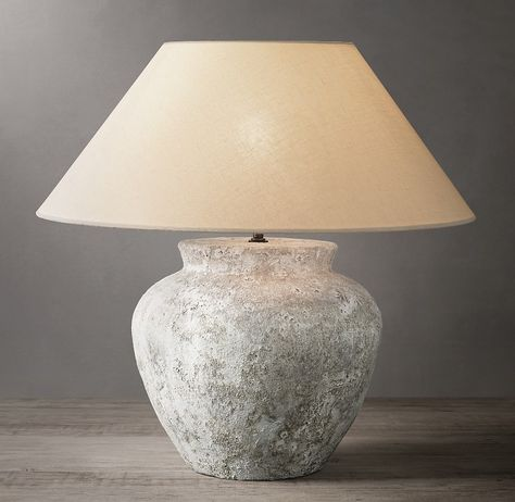 Terra Cotta Vessel Table Lamp Etruscan Urn Table Lamp Table Lamps Living Room Lamp