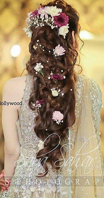Bridal Hairstyle Party Hairstyle Wedding Hair Style Beautiful Hairstyle Latest Hairstyle Saniya Shamshed Model A Party Hairstyles Hair Styles Bridal Hair