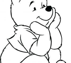 Cute Winnie The Pooh Coloring Pages Pdf Download Free Coloring Sheets Cute Winnie The Pooh Bear Coloring Pages Halloween Coloring Pages