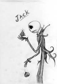 Resultado De Imagen Para Dibujos A Lapiz Art Jack The Pumpkin King Drawings