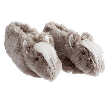 ANIMALS HIGH QUALITY LARGE LUXURIOUS TV PLUSH SLIPPER UNICORN DOG SHEEP SLIPPERS