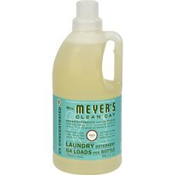 Mrs Meyer S Clean Day Basil Laundry Detergent Liquid 64 Fl Oz