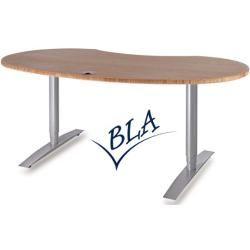 Chefschreibtische Executive desk Vto Elektro Profi Silver 191 x 101 cm Choice of color Optionenbla-u
