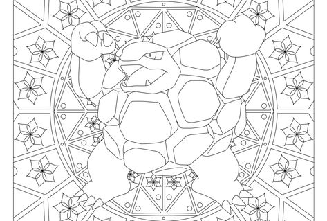 076 Golem Pokemon Coloring Page Pokemon Coloring Pages Pokemon
