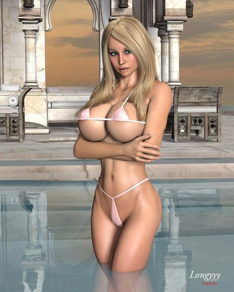 Hot blonde girl