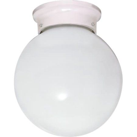 Nuvo Lighting 60436   1 Light (Twist And Lock Base) 6 Inch Flush Mount