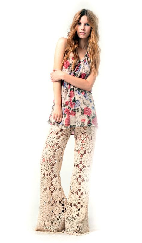 Crazy love these Crochet pants!!!
