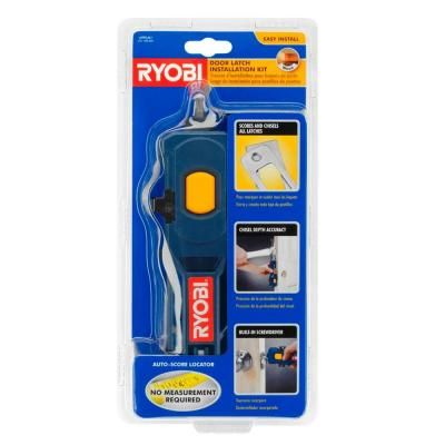 Ryobi Door Latch Installation Kit A99LM1 at The Home Depot | Wishes and desires | Pinterest | Door latches  sc 1 st  Pinterest & Ryobi Door Latch Installation Kit A99LM1 at The Home Depot ... pezcame.com