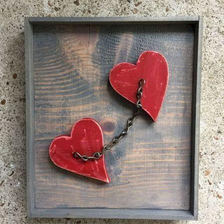 33 Best Diy Wood Hearts Ideas 19 In 2020 Wood Heart Diy Wood Heart Crafts Wood Hearts