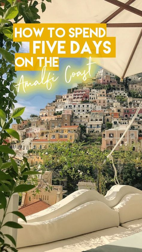 The perfect five day itinerary to explore the Amalfi Coast! From things to do, to places to eat, sights to see and where to base yourself - this Amalfi Coast guide provides all the details you need to plan a perfect five day Amalfi Coast trip!