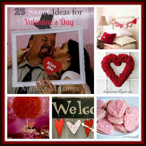 25 Sweet DIY Ideas for Valentine's Day...Some of these crafts and diy's are fantastic!