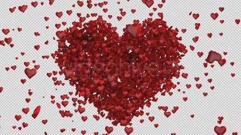 Heart Made Of Hearts (Stock Footage) . #heart #love #romantic #wedding #decoration #romance #marriage #drawing #decor #decorative #cute #valentines #hearts #lover #invitation #couple #template #lovers #woman #beautiful