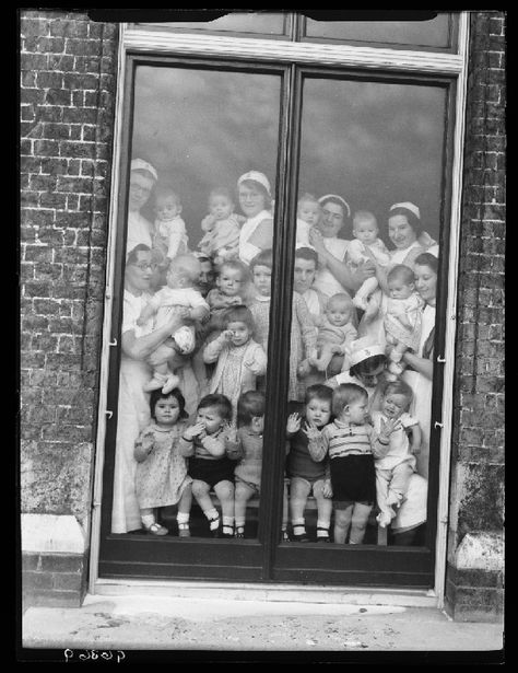 Children's home, 1938 by Edward G Malindine -- This might be one of the saddest photos I've ever seen. :(