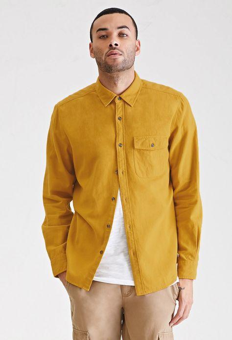 Flannel Pocket Shirt New Arrivals 2000137558 Forever 21 Uk