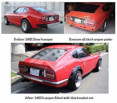 Datsun 240Z Rear bumper conversion Light weight Ver for 260Z 280Z New! 30-J8229 | eBay Motors, Parts & Accessories, Vintage Car & Truck Parts | eBay!