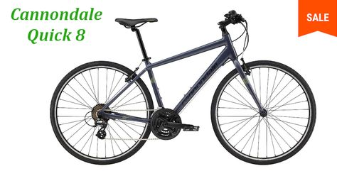 Cannondale Quick 8 Ideal As A Daily Commuter For Work School Or As A Weekend Fitness Bike The Quick 8 Has The Featu In 2020 Cannondale Biking Workout Commuter Bike