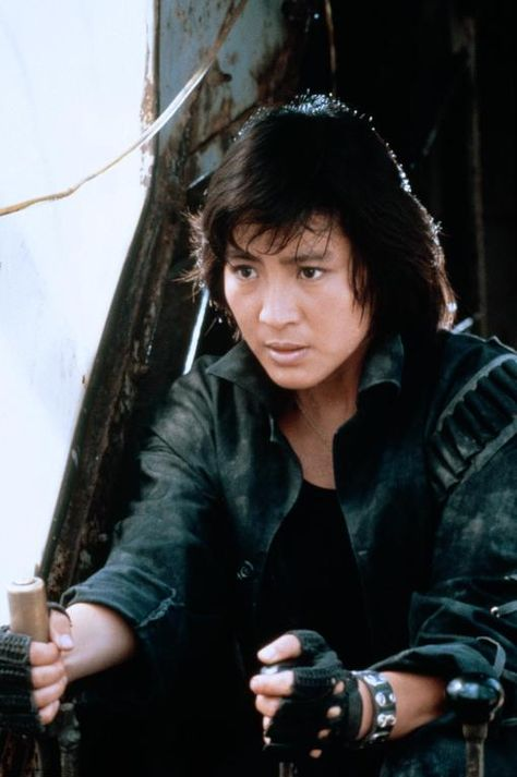 Theactioneer Michelle Yeoh In The Line Of Duty 1986