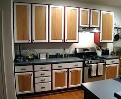 Image Result For Painted Cabinets With Natural Wood Doors