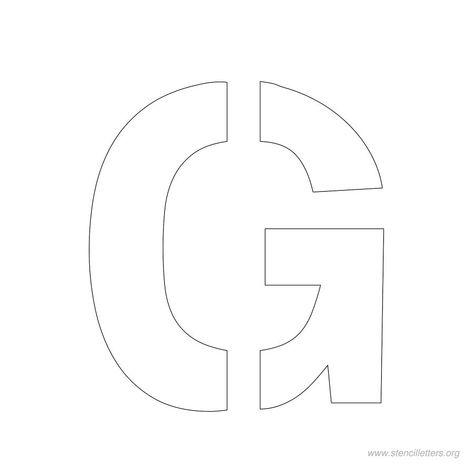 2 inch stencil letters PRINTABLE STENCILS Letter stencils