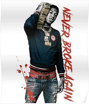 Youngboy Never Broke Again Shirt Merch Poster By Robtaf Rap Album Covers Merch Shirts