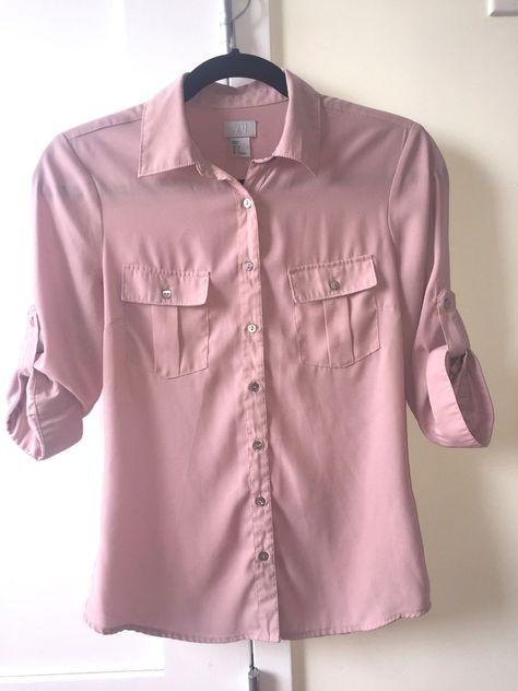 dusty pink shirt womens