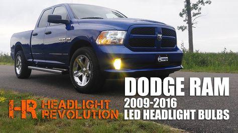Latest Dodge Ram Led Headlight Bulb Upgrade Kit For 2009 2016 Dodge Ram With Reflector Headlights 51656 Yorktown Ia June 2018 Led H Led Headlights Projector Headlights Headlight Bulbs