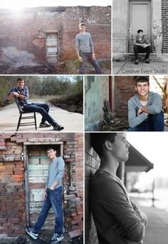 Senior Picture Poses For Guys | Guys senior picture outfit and pose ideas