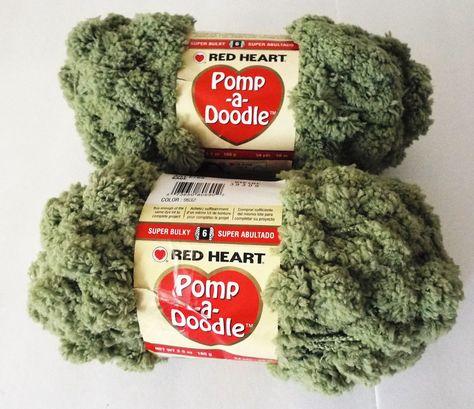 Red Heart POMP-A-DOODLE 1 Skein