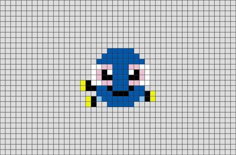 Baby Dory Pixel Art Pixel Art Pixel Art Pokemon Et Pixel