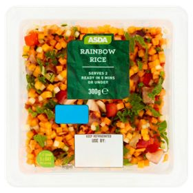 Asda Rainbow Rice Asda Groceries Rainbow Rice Food
