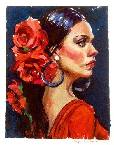 Daily Paintworks : daily, paintworks, Daily, Paintworks, Roses, 🌹🌹🌹