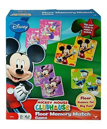 By Broward Toys Mickey Mouse Clubhouse Floor Memory Match Game