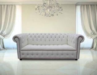 Chesterfield Crystal Diamond Diamante Crystal White Leather Sofa Offer White Leather Sofas White Leather Couch Best Leather Sofa