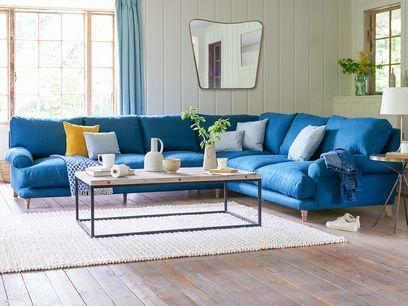 Slowcoach large comfy l shaped corner sofa in 2019 | Corner ...