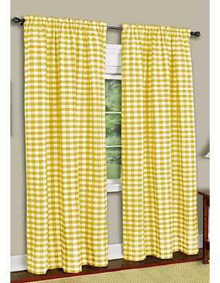Achim Buffalo Check Window Curtain Panel Belk Panel Curtains