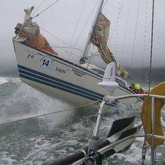 Not a good day at sea!!