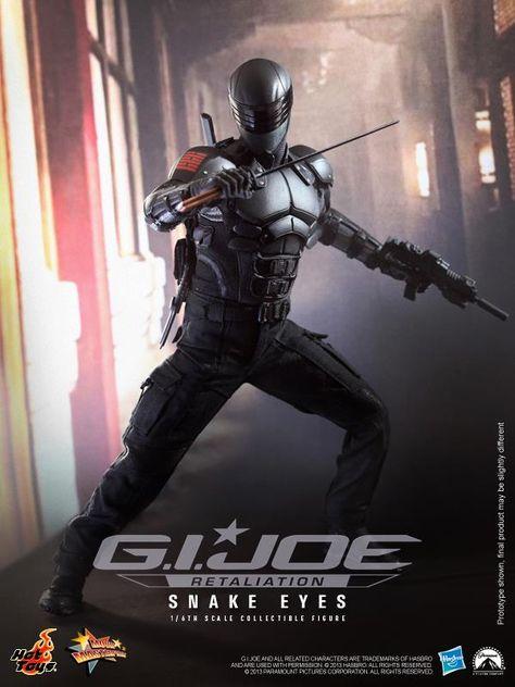 Hot Toys : Snake Eyes from G.I. Joe Retaliation