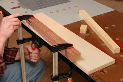 How To Make A Table Saw Taper Jig Taper Jig Make A Table Wood Screws