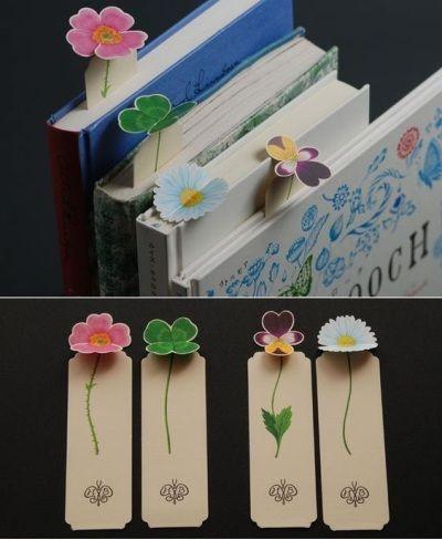 Pembatas Buku Bentuk Bunga Kerajinan