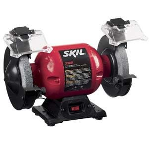 Skil 3380 01 6 Inch Bench Grinder Bench Grinder Woodworking Tools Router Skil