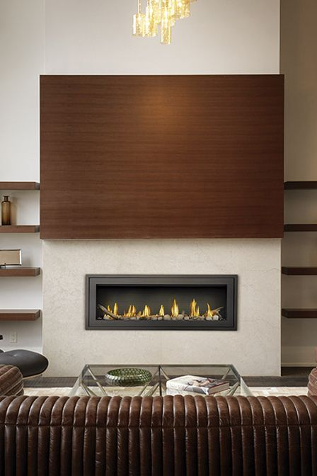 Napoleon Vector Lv50 Gas Fireplace In 2020 Linear Fireplace Gas