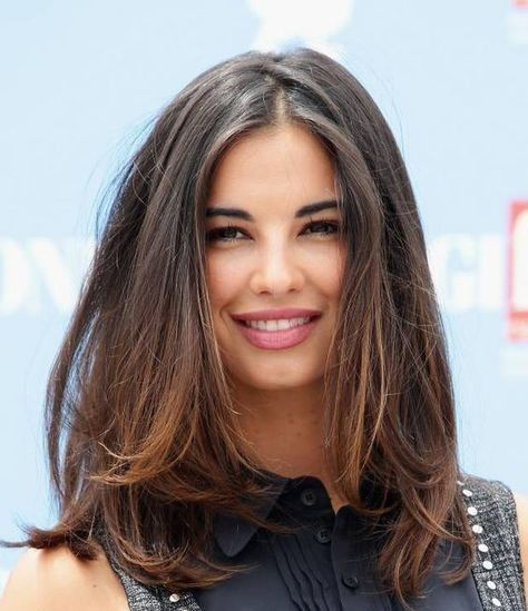 New Collections Of Best Medium Length Straight Hairstyles For Women 47 Haircut For Thick Hair Hair Styles Long Hair Styles