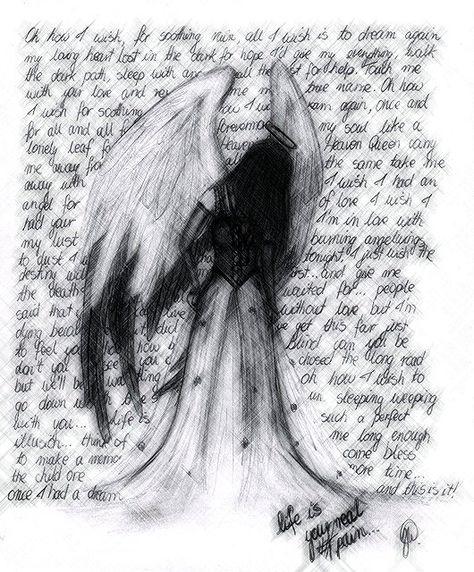 Fallen Angel Anime Drawing Google Zoeken Angel Drawing Anime