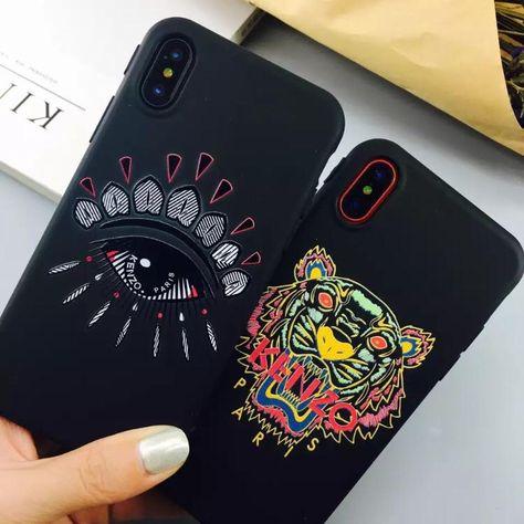 coque iphone 7 silicone kenzo