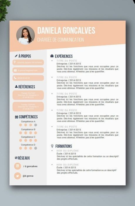 Resume For Marketing Resume For Sales Resume For Word Mac Pc Cover Letter Professional R Resume Design Resume Design Creative Resume Design Professional