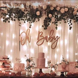 Buyer Photo Lrdickerson1 Who Reviewed This Item With The Etsy App For Iphone Baby Girl Shower Themes Girl Baby Shower Decorations Girl Shower Themes